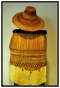 Woven Robe and Hat
