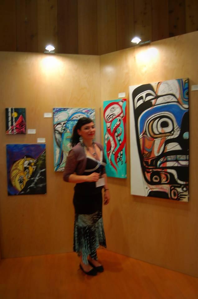 My Paintings at the Adaka Festival