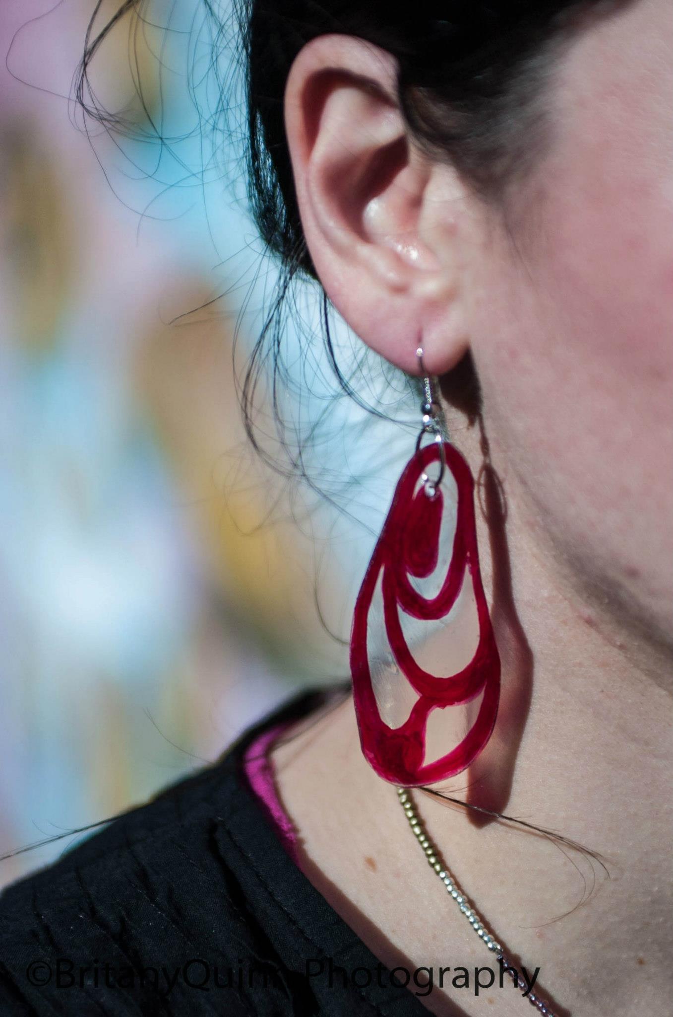 REcycled Plastic Earrings