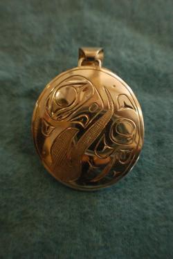 baby eagle pendant