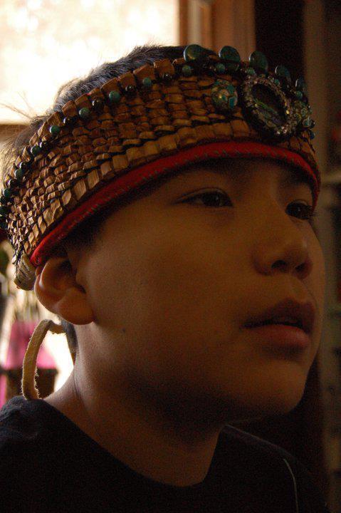 Nakota Woven Headdress