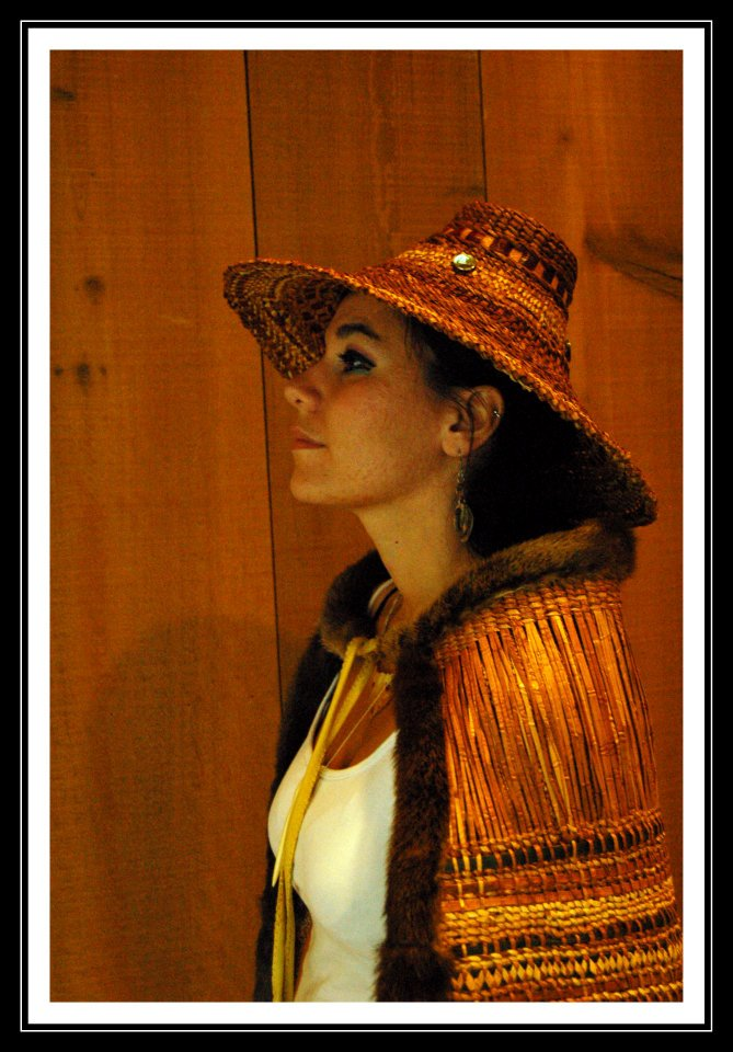 Woven Hat and Robe