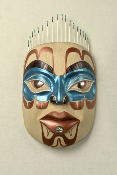peace woman mask