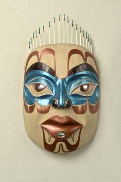 peace woman mask