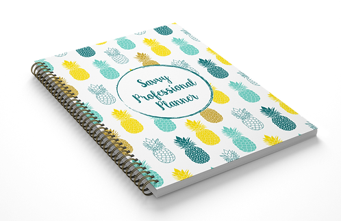 The Author Monthly Planner