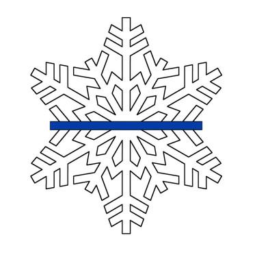 22 Thin Blue Snowflake.jpg