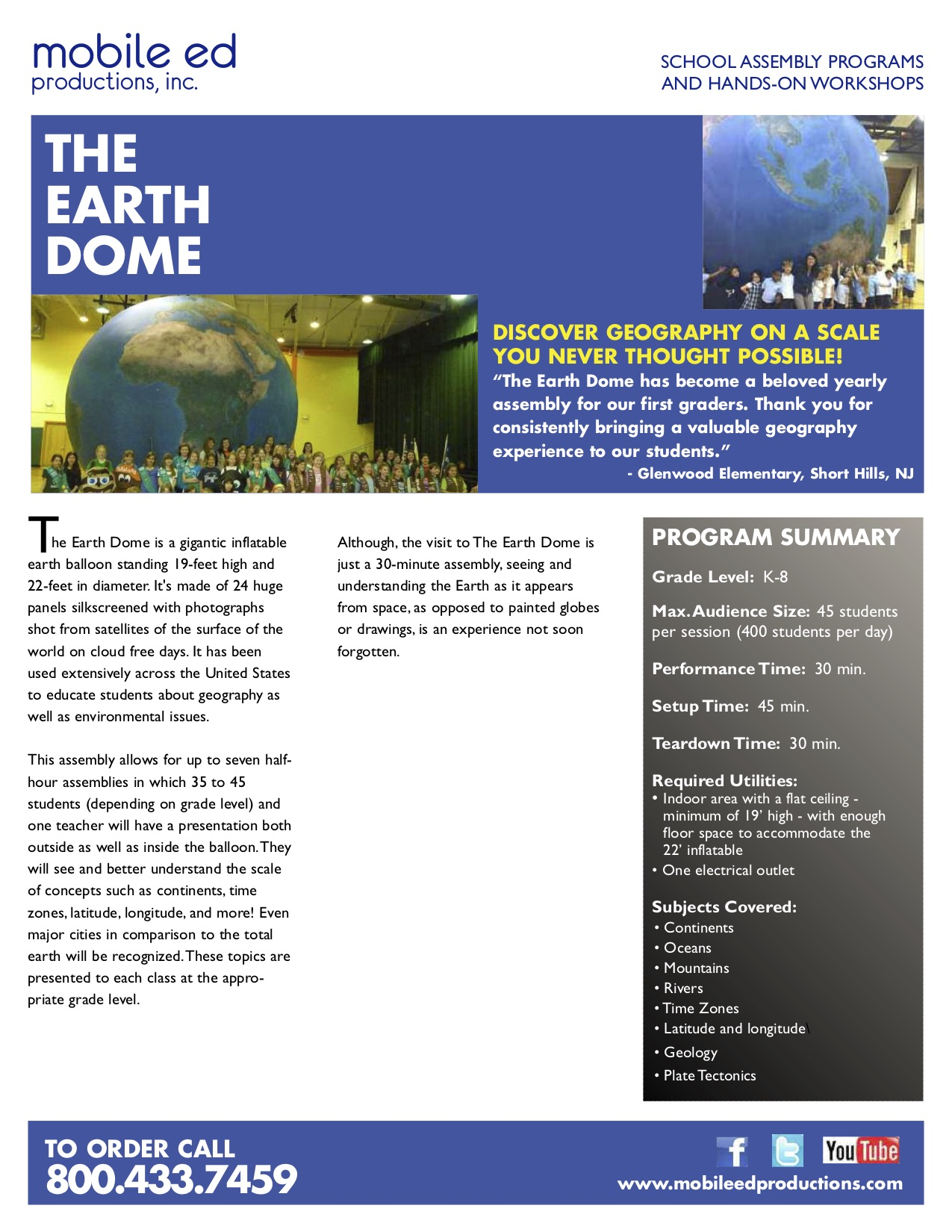 Earth Dome Assembly