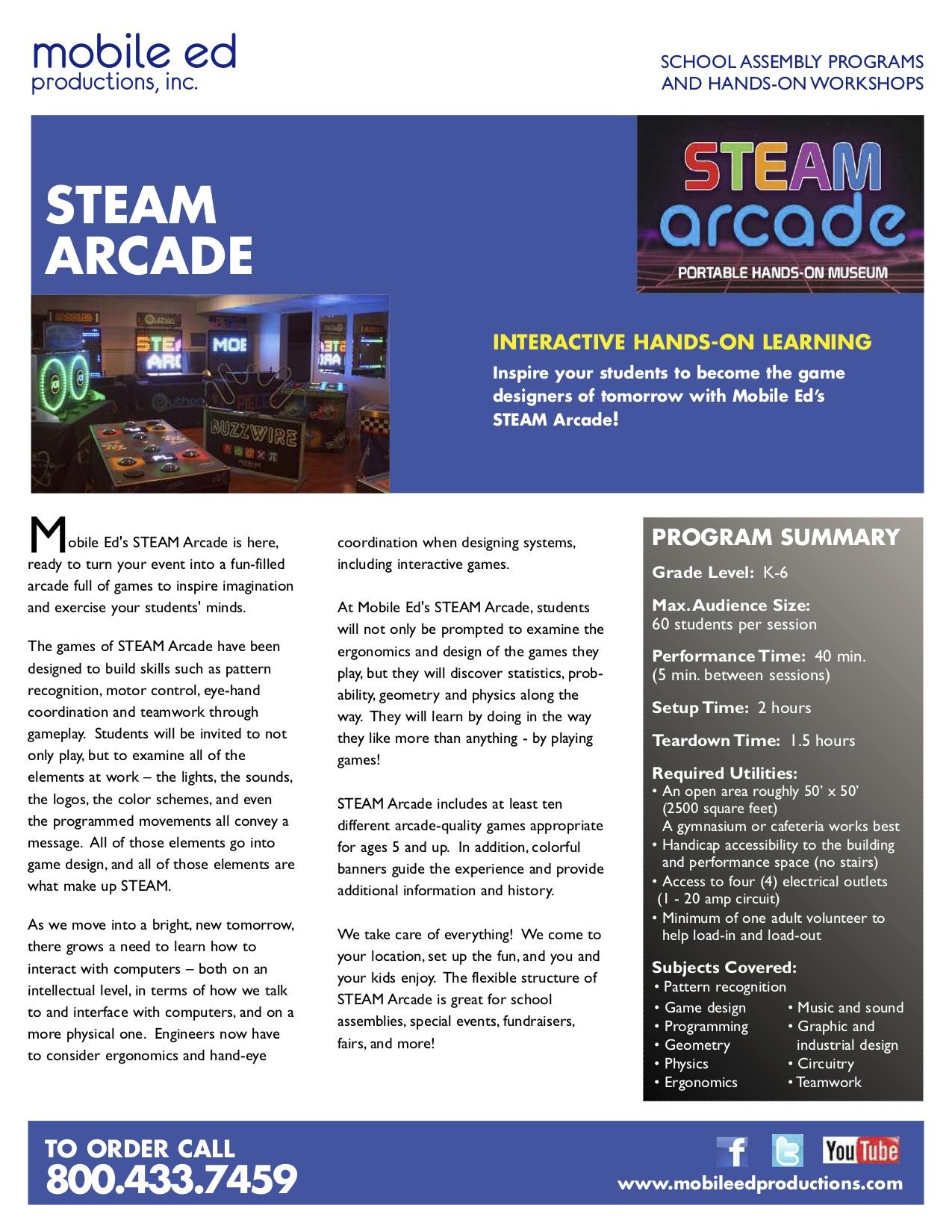 STEAM Arcade