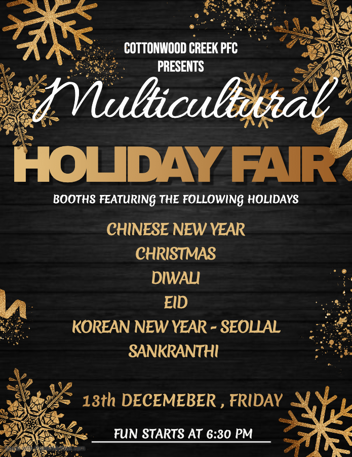 Multicultural Holiday Fair