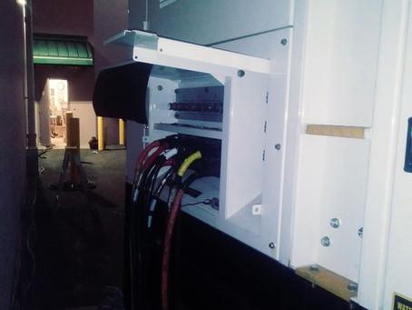 Installing Emergency Generator for ROSS Clothing Store