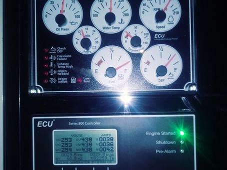 Installing 150,000 KW Emergency Generator