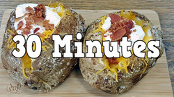 FAST! Baked Potatoes