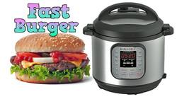 Pressure Cooker Burgers