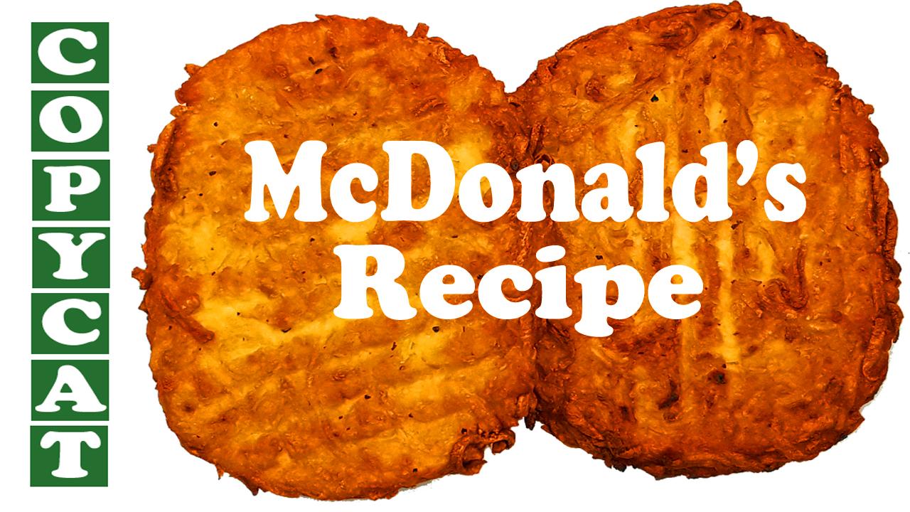 Mcdonald's Hash Brown At HOME
