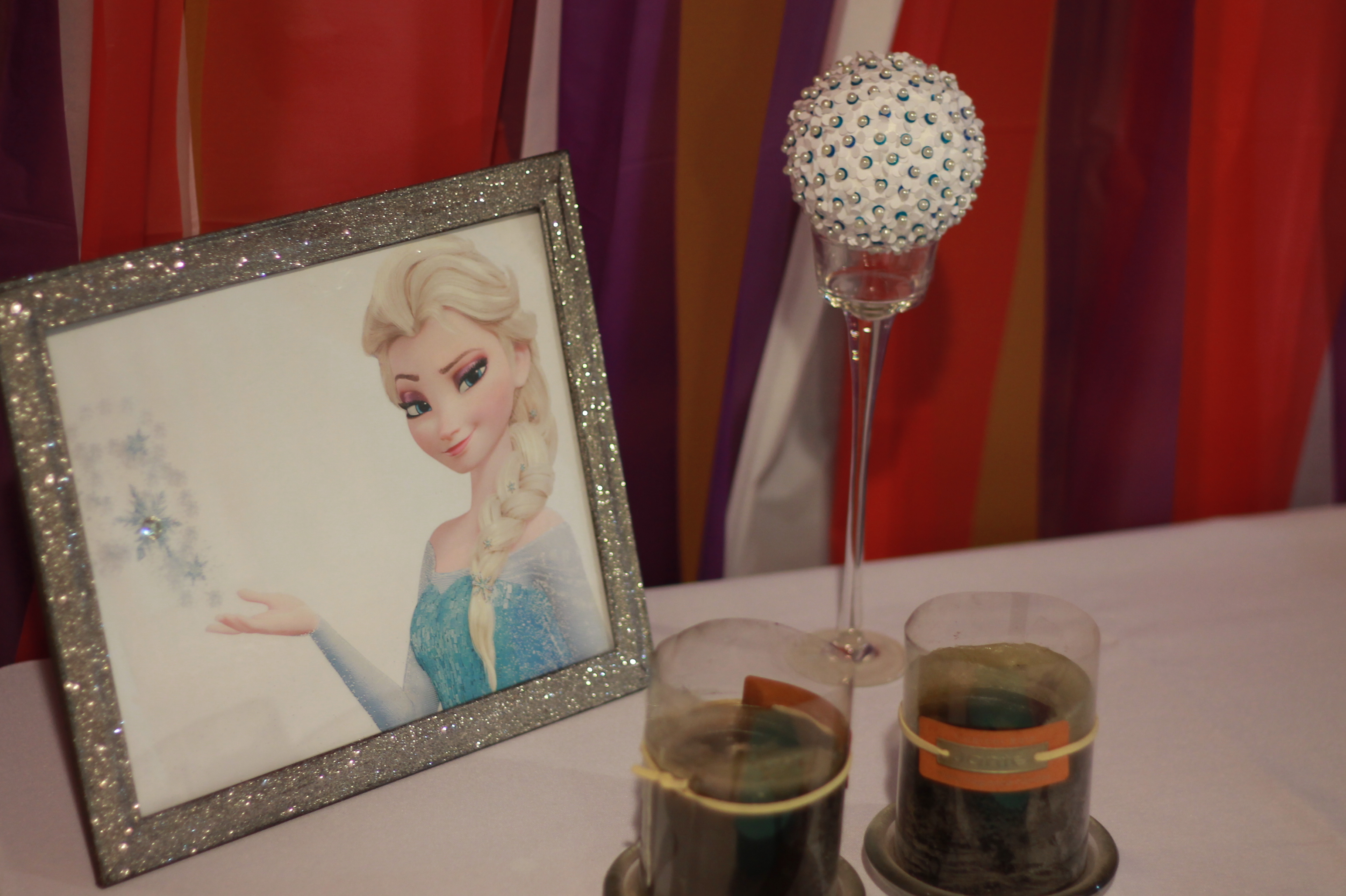 Frozen Birthday Decor