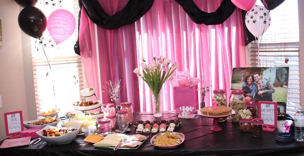 Birthday Treats Table