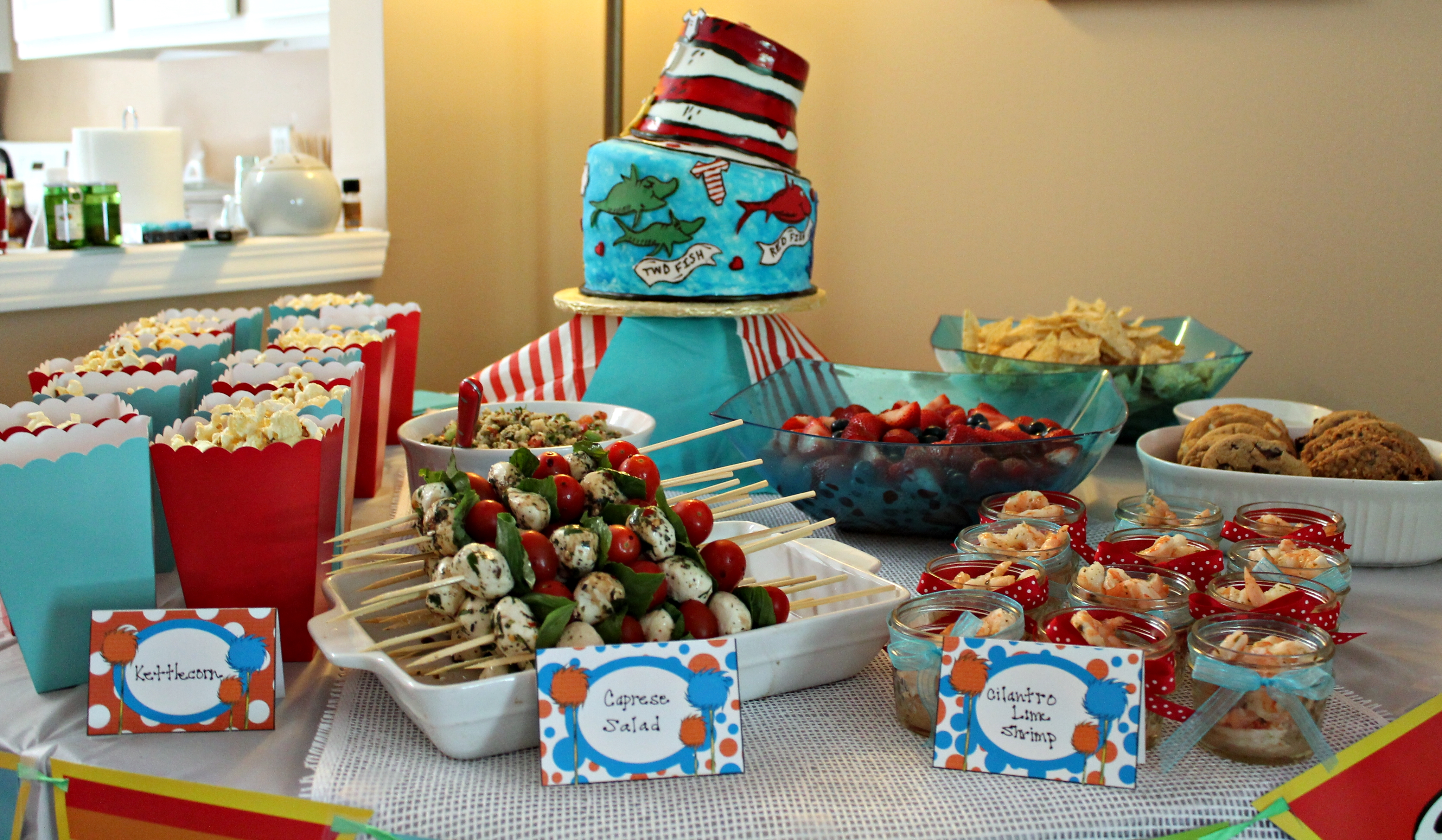 Dr. Seuss Baby Shower Decor