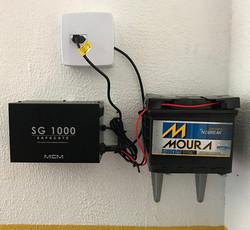 Nobreak para portões automatizados