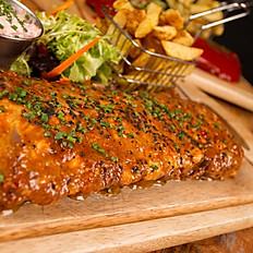 Sesame and honey pork Ribs