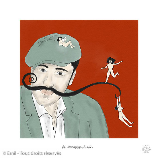 Moustattachante