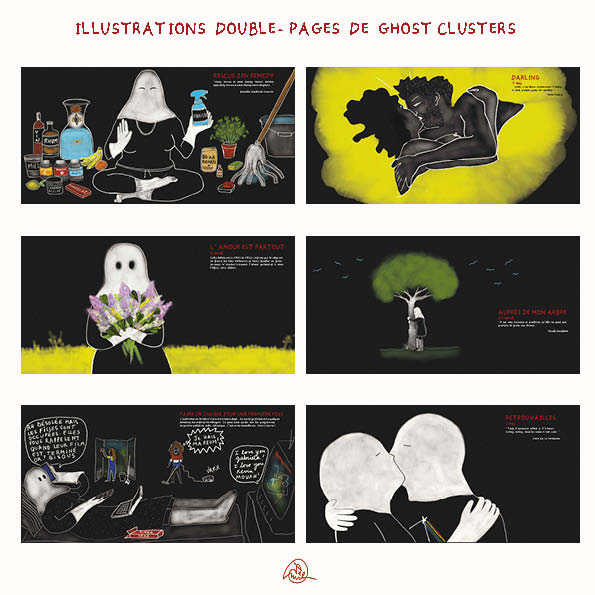 Ghost Clusters extrait pages