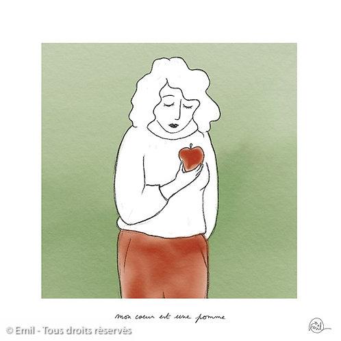 Mon coeur est une pomme