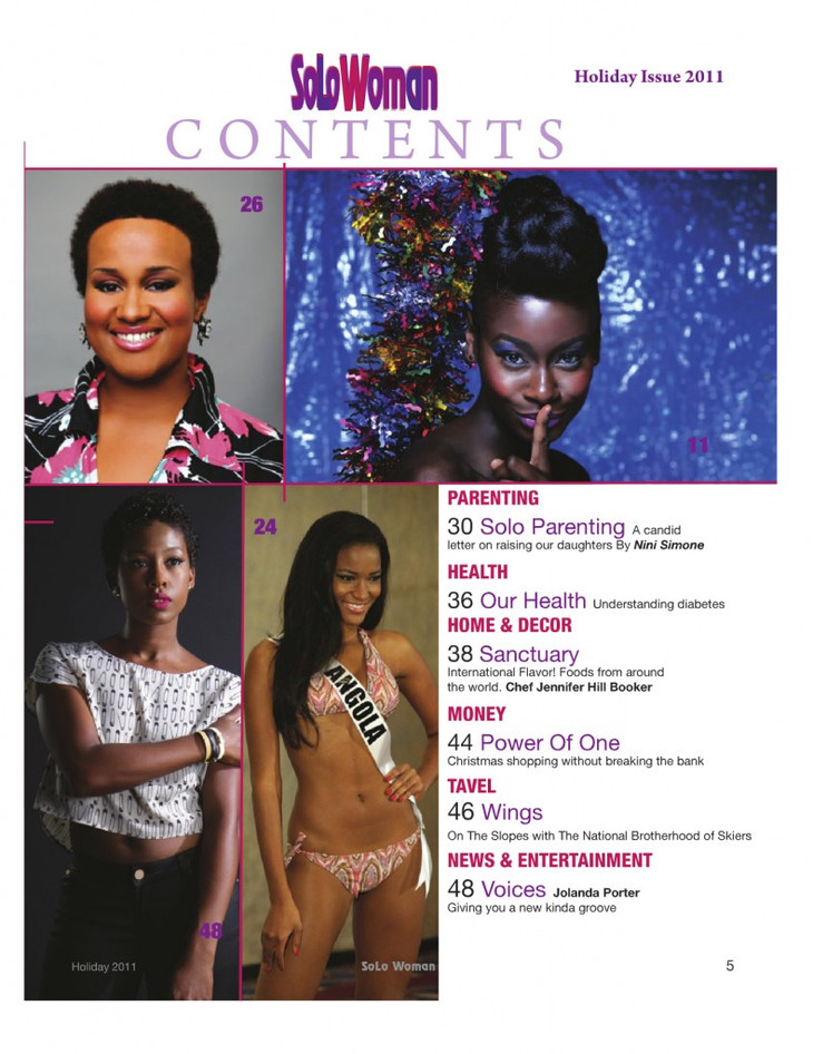 Jolanda featured in Solo Magazine