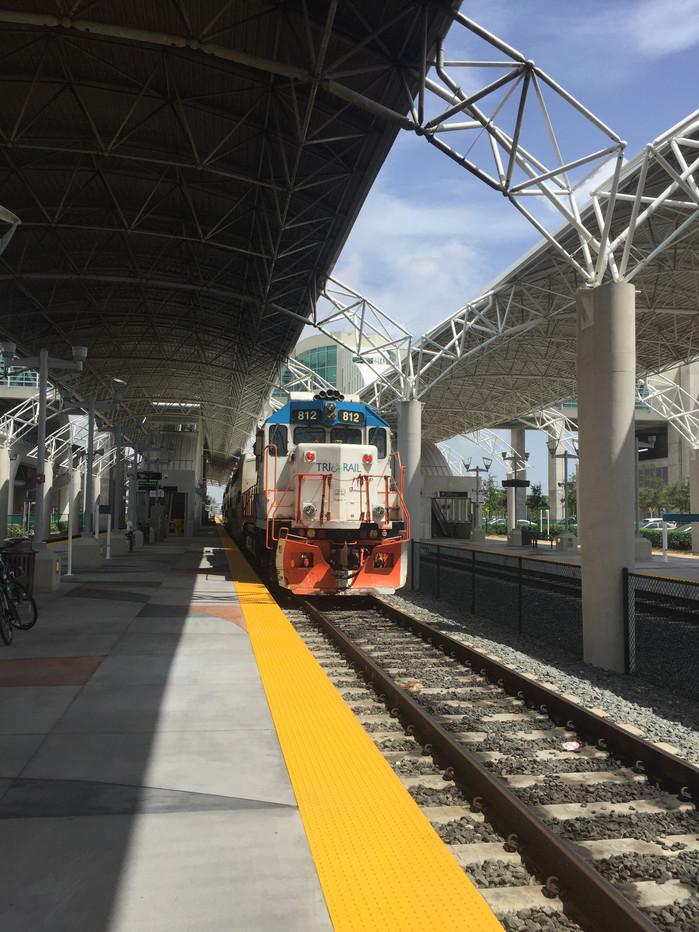 Tri-rail adventures in Florida