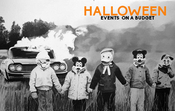 Halloween events on a budget