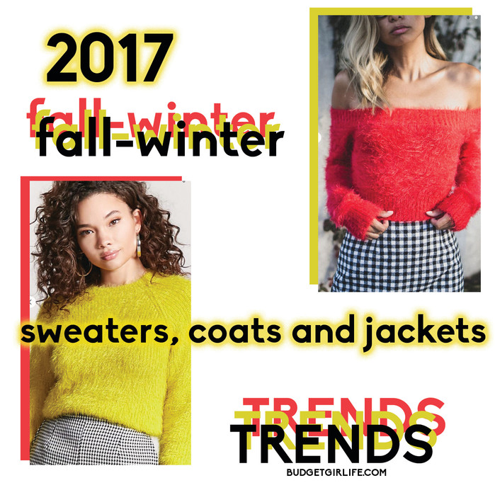2017 Fall-winter jackets, sweaters and coat trends