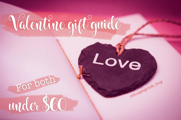 Valentine gift guides for both under $60