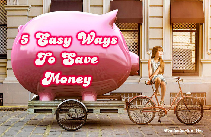 5 easy ways to actually save money