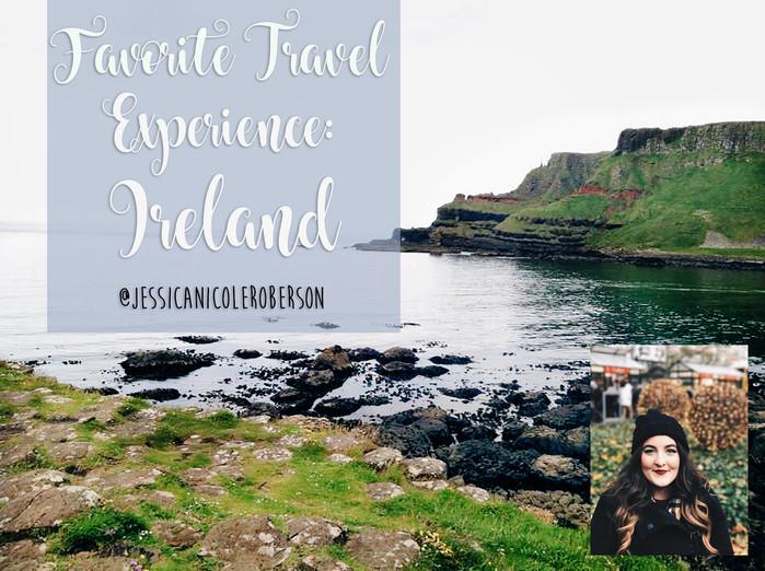 Favorite Travel Experience: Ireland