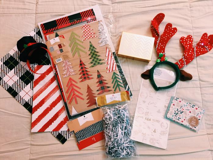 Target dollar spot Christmas haul 2016