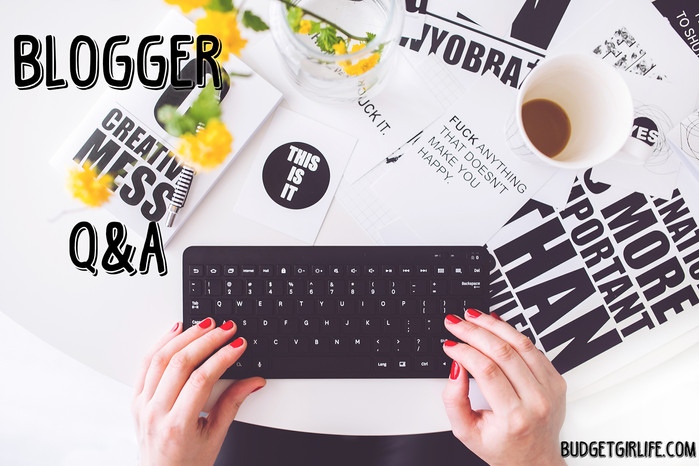 Blogger Q&A / Tag a blogger
