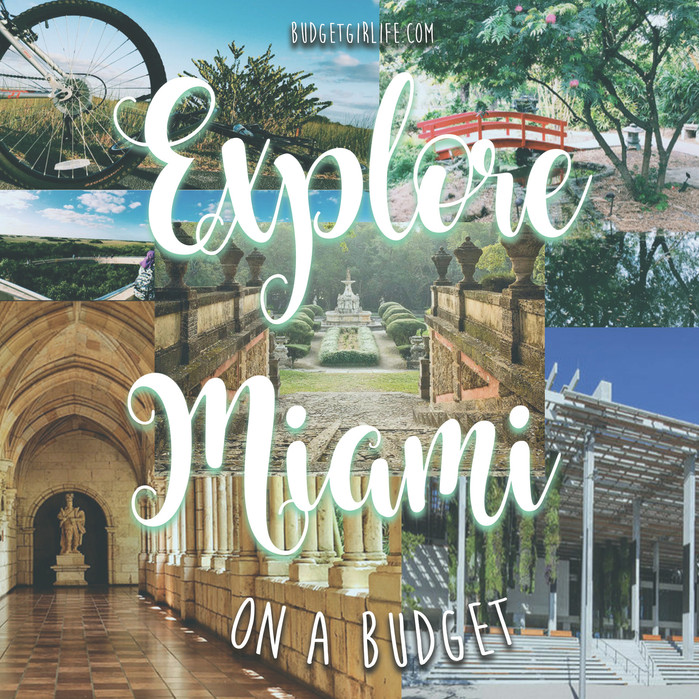 Explore Miami on a budget; Things to do