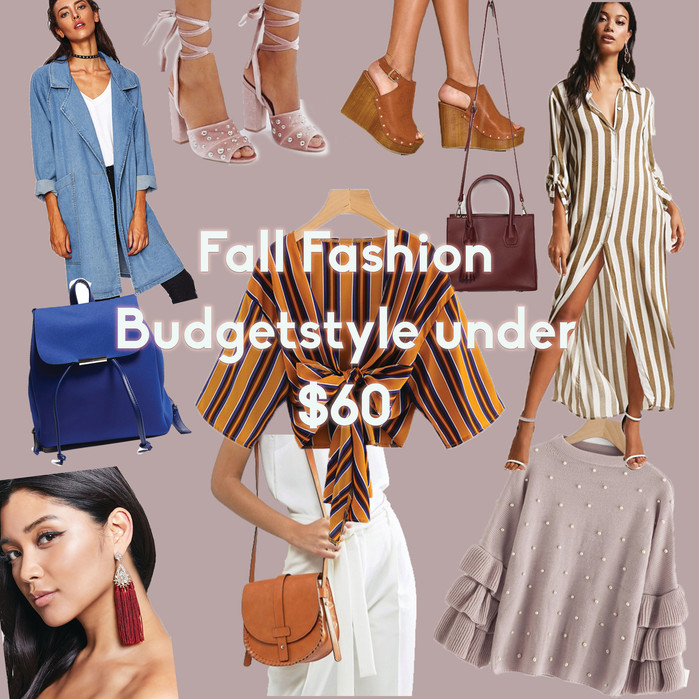 Fall fashion pieces under $60