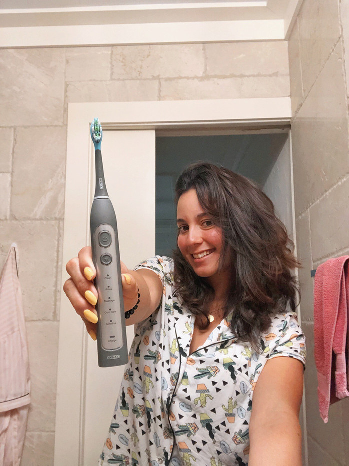Do you save money with an electronic toothbrush?