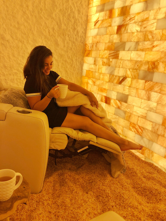 What is Salt Therapy? Ever been in a Salt cave?