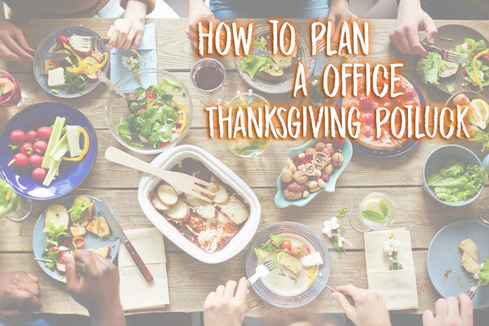 How to plan a office Thanksgiving potluck