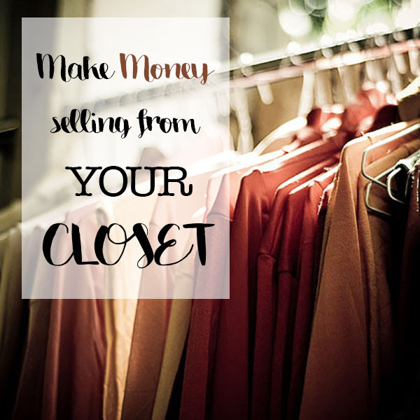 Make money from your closet