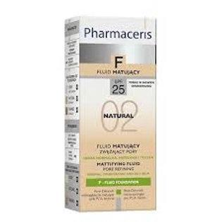 Pharmaceris F 25+ Foundation Matt Natural 02 30ML