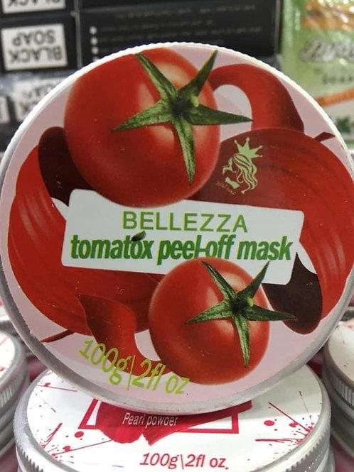 BELLEZZA tomatox peel-off mask