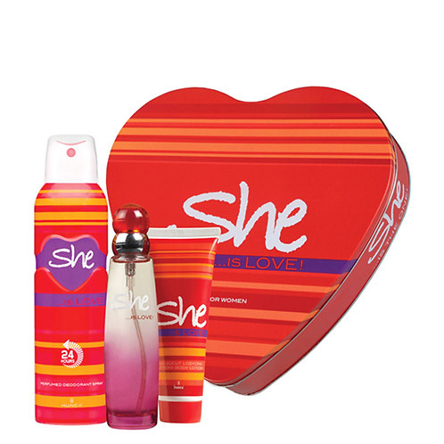 she is pretty deo + heart 3 pcsl