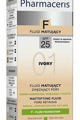 Pharmaceris F 25+ Foundation Matt ivory 01 30ML