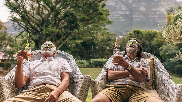 Guys hanging out at Kapuhala koh samui