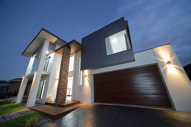 Façade finishes for a good first impression