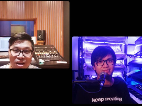 Synthesizer Talk hosted by Lawrence Philip from SAE Indonesia