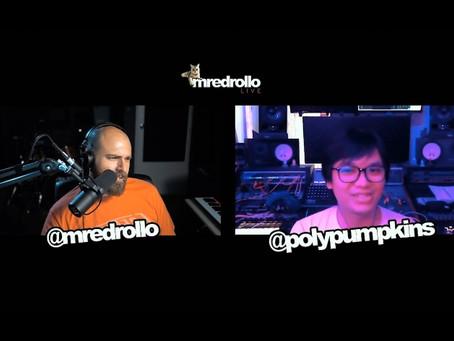 Dominic Au joining mredrollo Live Podcast