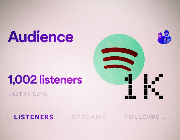 Hitting 1K Spotify listeners - Polypumpkins